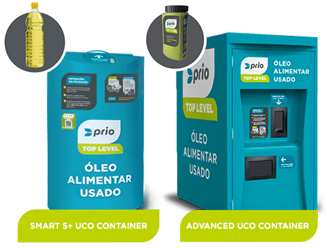 Prio Top Level 'UCO' Containers